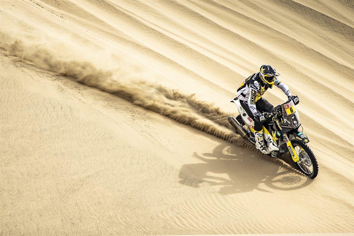 Pablo Quintanilla – Rockstar Energy Husqvarna Factory Racing - Dakar Rally - Stage 2