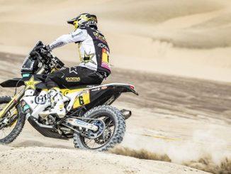 Pablo Quintanilla – Rockstar Energy Husqvarna Factory Racing - Dakar Rally - Stage 4