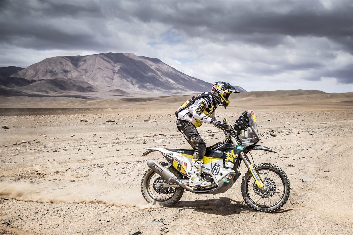 Pablo Quintanilla – Rockstar Energy Husqvarna Factory Racing - Dakar Rally - Stage 5
