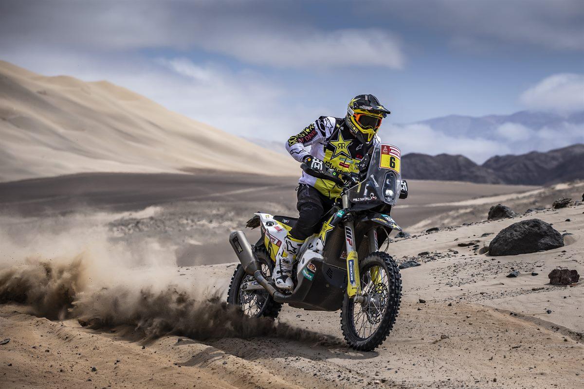 Pablo Quintanilla – Rockstar Energy Husqvarna Factory Racing - Dakar Rally - Stage 7