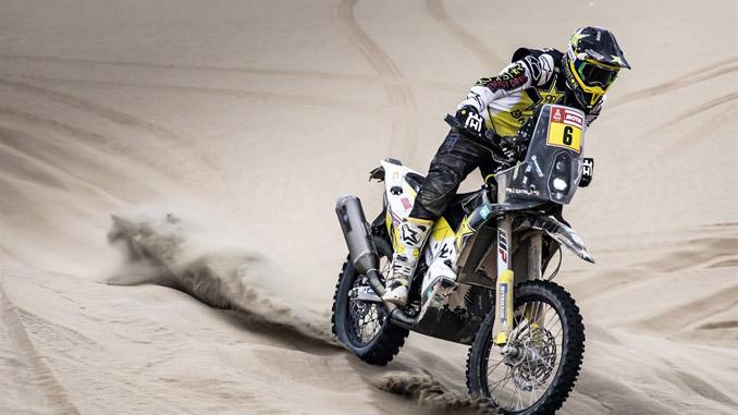 Pablo Quintanilla – Rockstar Energy Husqvarna Factory Racing - Dakar Rally - Stage 9
