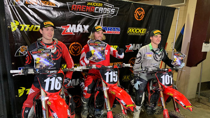 Pirelli Kicker Arenacross Podium Sweep - Colorado [678]