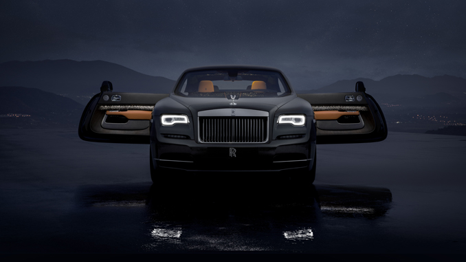 ROLLS-ROYCE TAKES BESPOKE TO NEW HEIGHTS WITH 'WRAITH LUMINARY COLLECTION