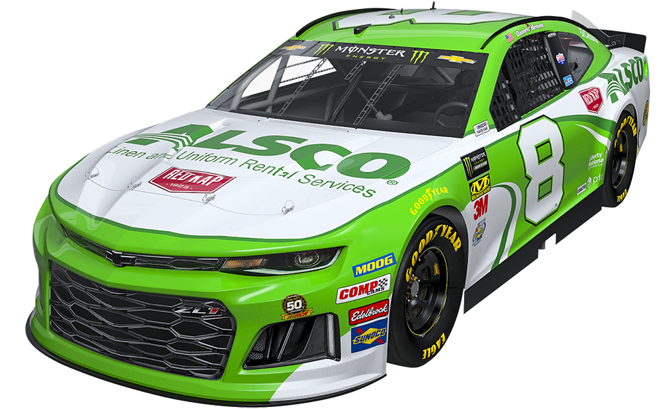 Richard Childress Racing - No. 8 Chevrolet Camaro ZL1, piloted by Daniel Hemric in the Monster Energy NASCAR Cup Series