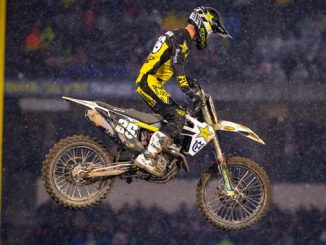 Rockstar Energy Husqvarna Factory Racing's Michael Mosiman - Anaheim I (Photo_ Simon Cudby)