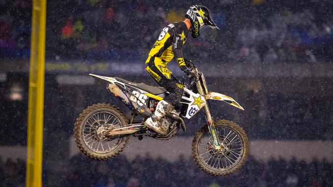 Rockstar Energy Husqvarna Factory Racing's Michael Mosiman - Anaheim I (Photo_ Simon Cudby)