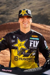 Rockstar Energy Husqvarna Factory Racing's Zach Osborne (Photo_ Simon Cudby)