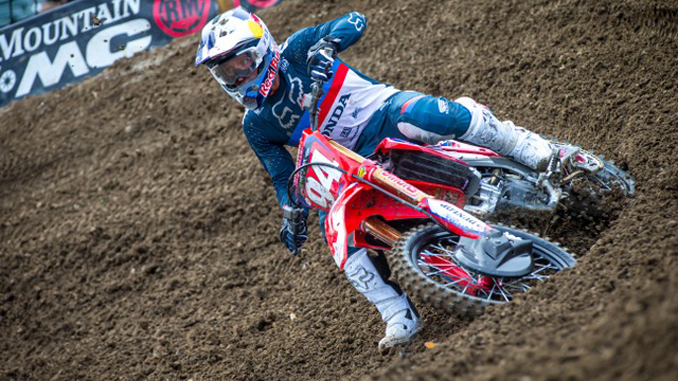 Roczen Secures Top Five Finish At Oakland Supercross