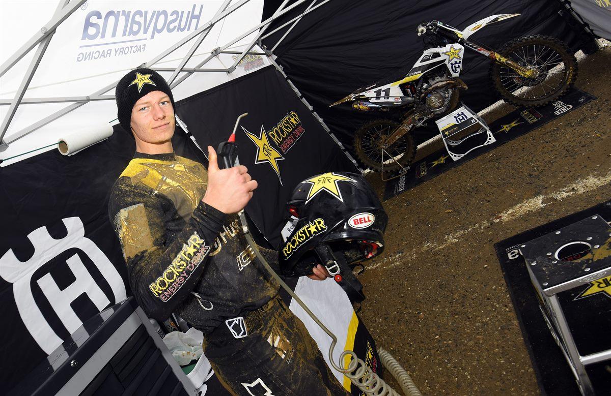 Mikkel Haarup – Rockstar Energy Husqvarna Factory Racing - Internazionali d' Italia MX