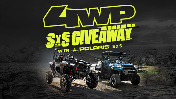 4 Wheel Parts Announces Nationwide Sweepstakes for 2019 Polaris SxS UTV