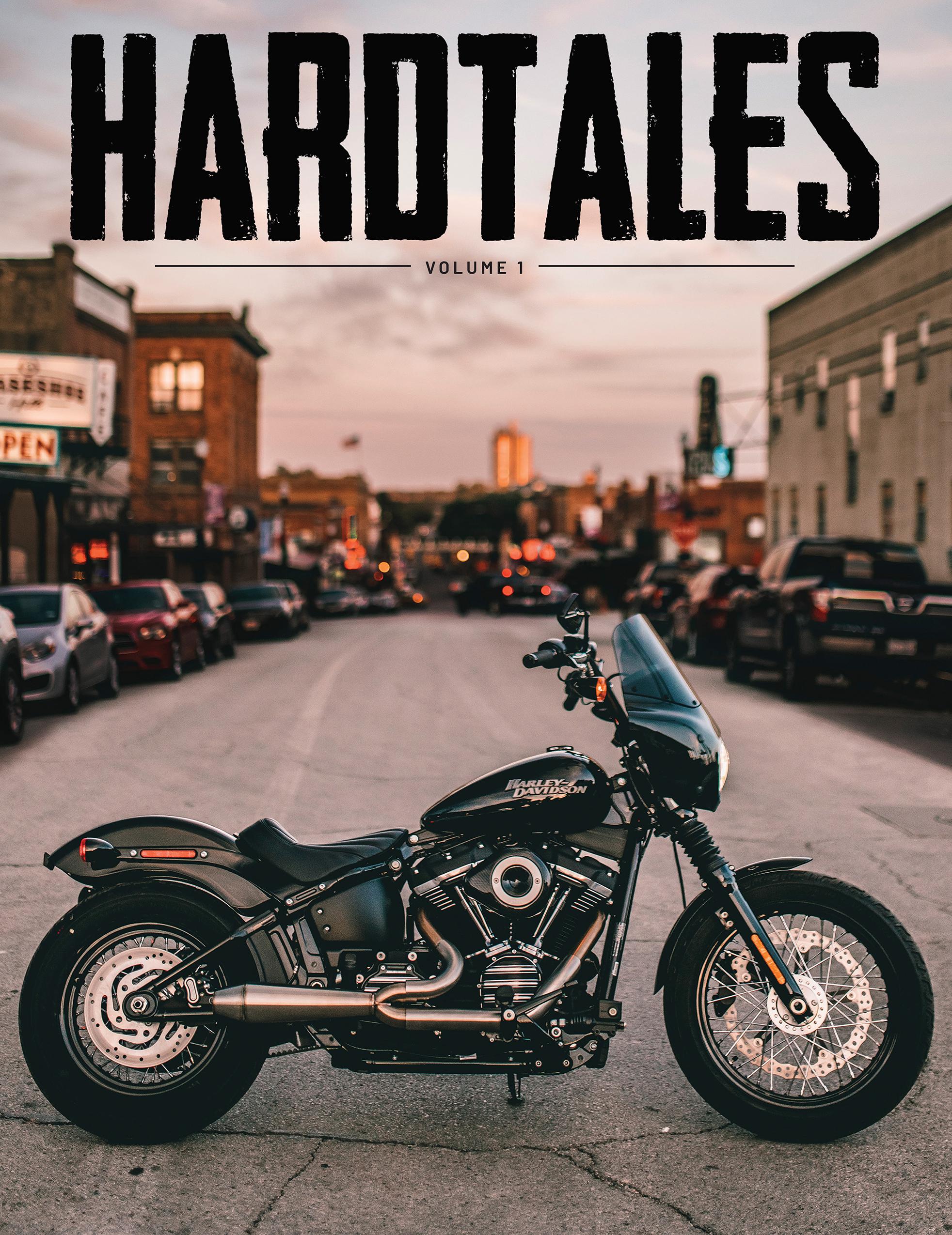 Tucker - Hardtales Volume1 FrontCover