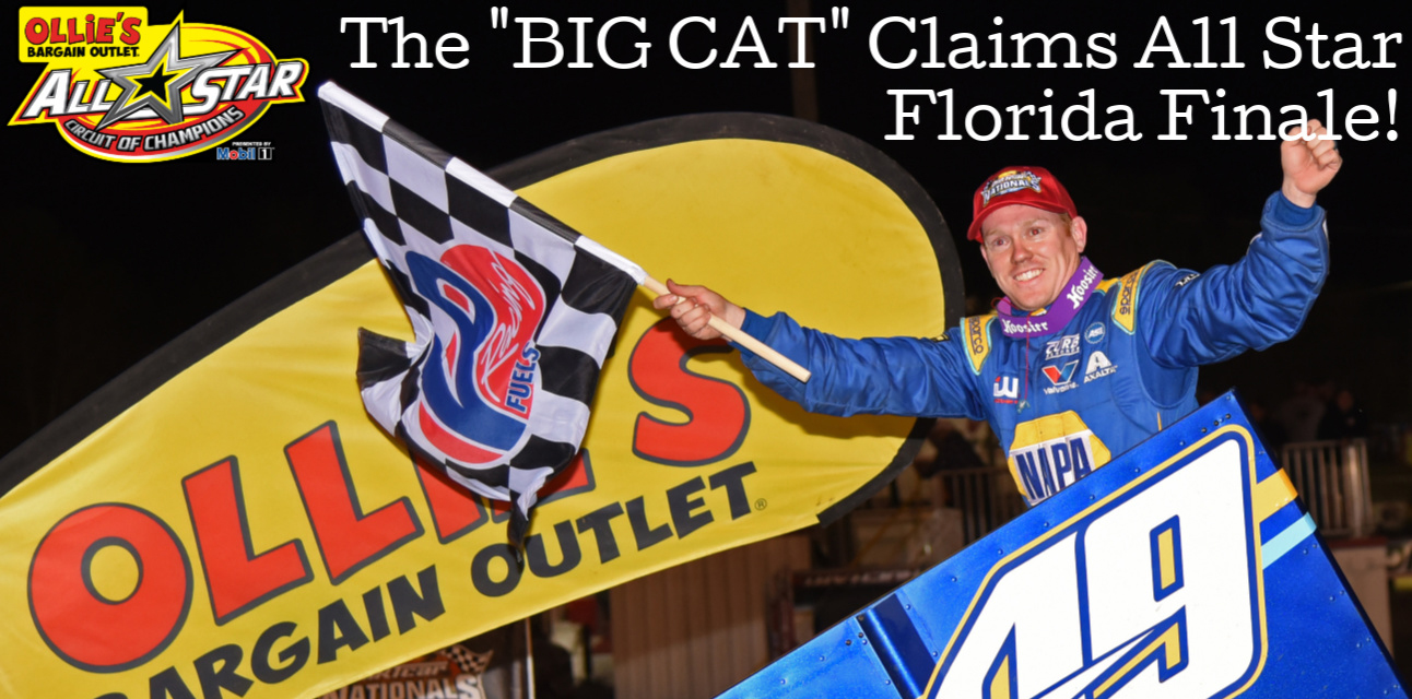 The 'Big Cat' earns All Star Florida finale victory at Volusia Speedway Park