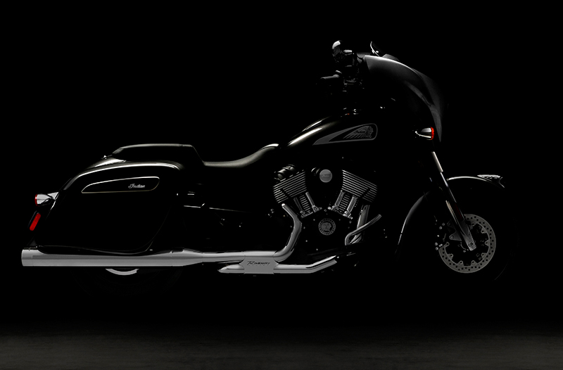 Rinehart will debut their Slimline Dual Headers for Indian touring models at the event