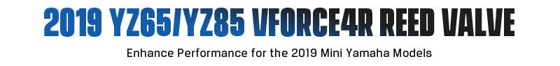 Moto Tassinari VForce4R for 2019 YZ65- 85 Models banner