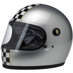 An example of the Biltwell helmet models available to training sites