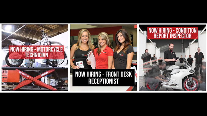 National Powersport Auctions Now Hiring