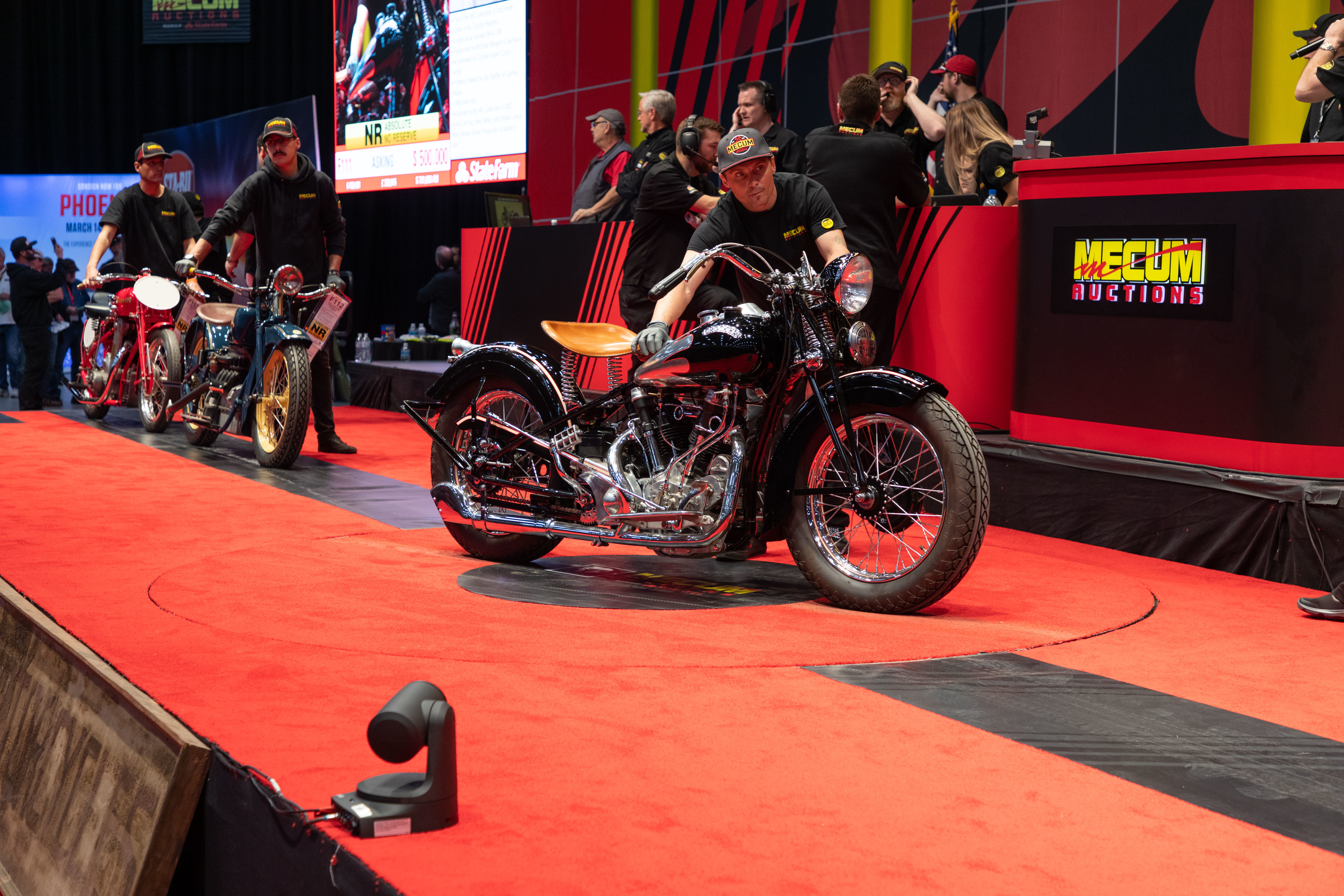 1939 Crocker Big Tank From the MC Collection of Stockholm (Lot F111) Sold at $704,000 - Mecum Auctions