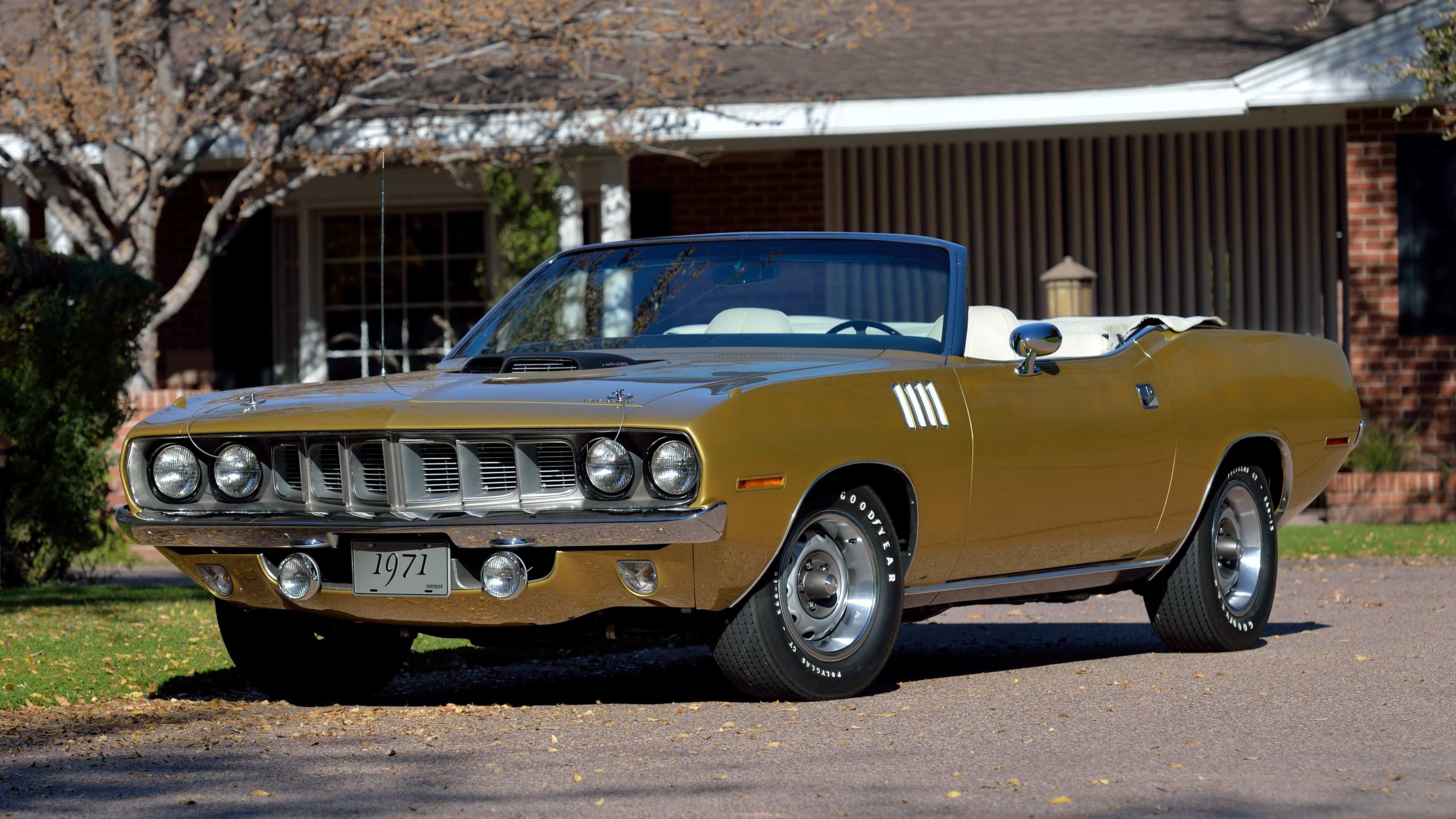 1971 Plymouth Cuda Convertible 1 of 5 V-Code 4-Speed Convertibles Produced (Lot S87) - Mecum Phoenix