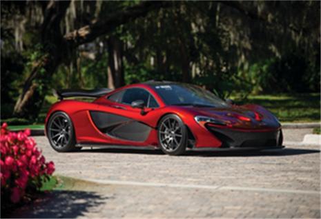 2015 McLaren P1 (Credit – Darin Schnabel © 2019 Courtesy of RM Sotheby's) Amelia Island
