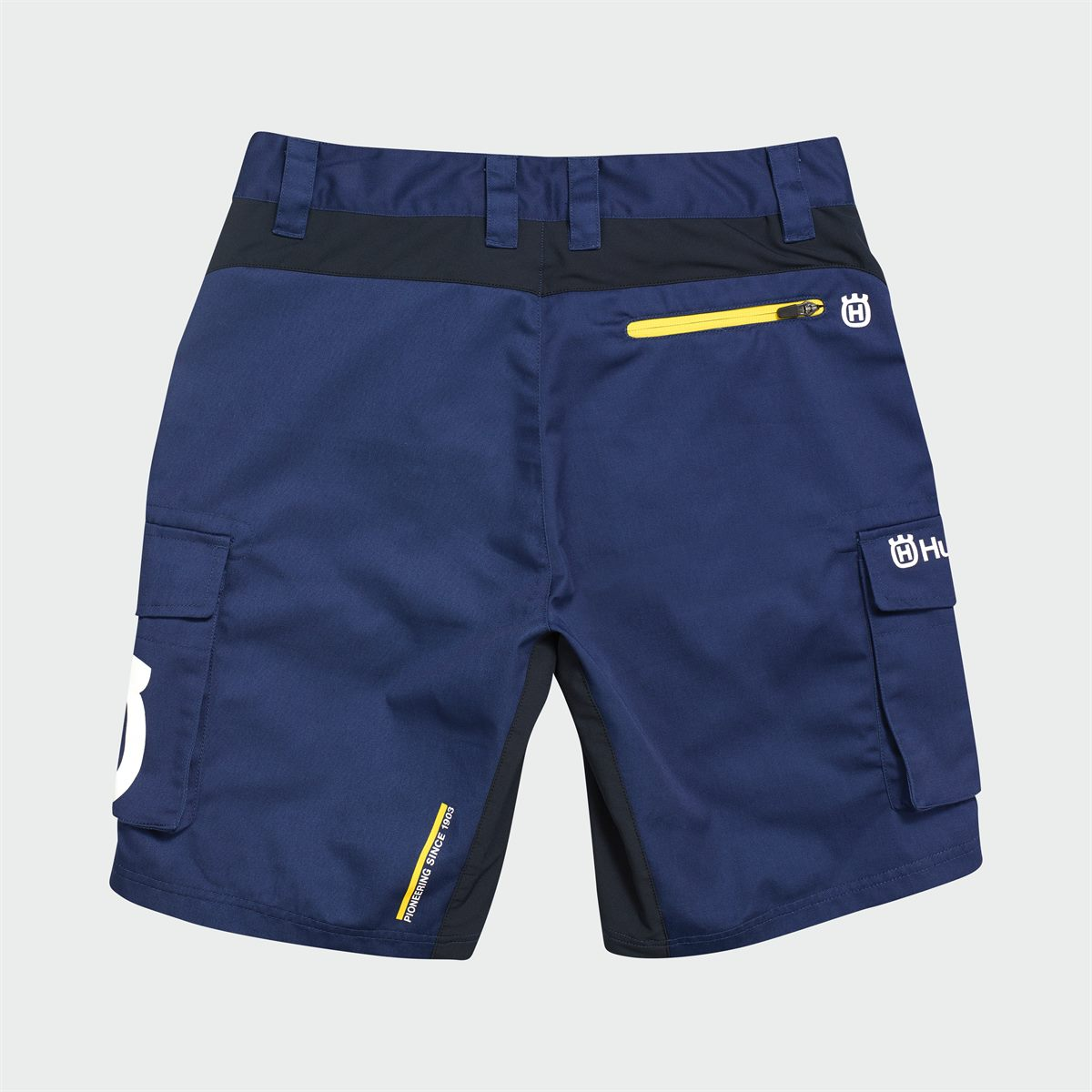 2019 HUSQVARNA REPLICA TEAM WEAR - REPLICA TEAM SHORTS BACK