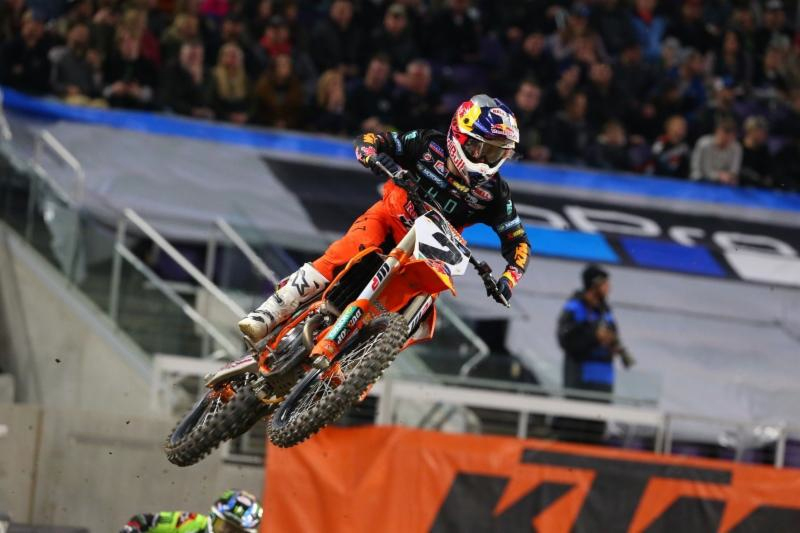 After two years without a win Cooper Webb rode calm cool and collected for his third win of 2019 - Monster Energy Supercross Minneapolis