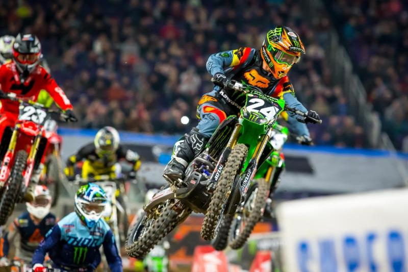 Austin Forkner started the Eastern Regional 250SX Class series by dominating the day - Monster Energy Supercross Minneapolis