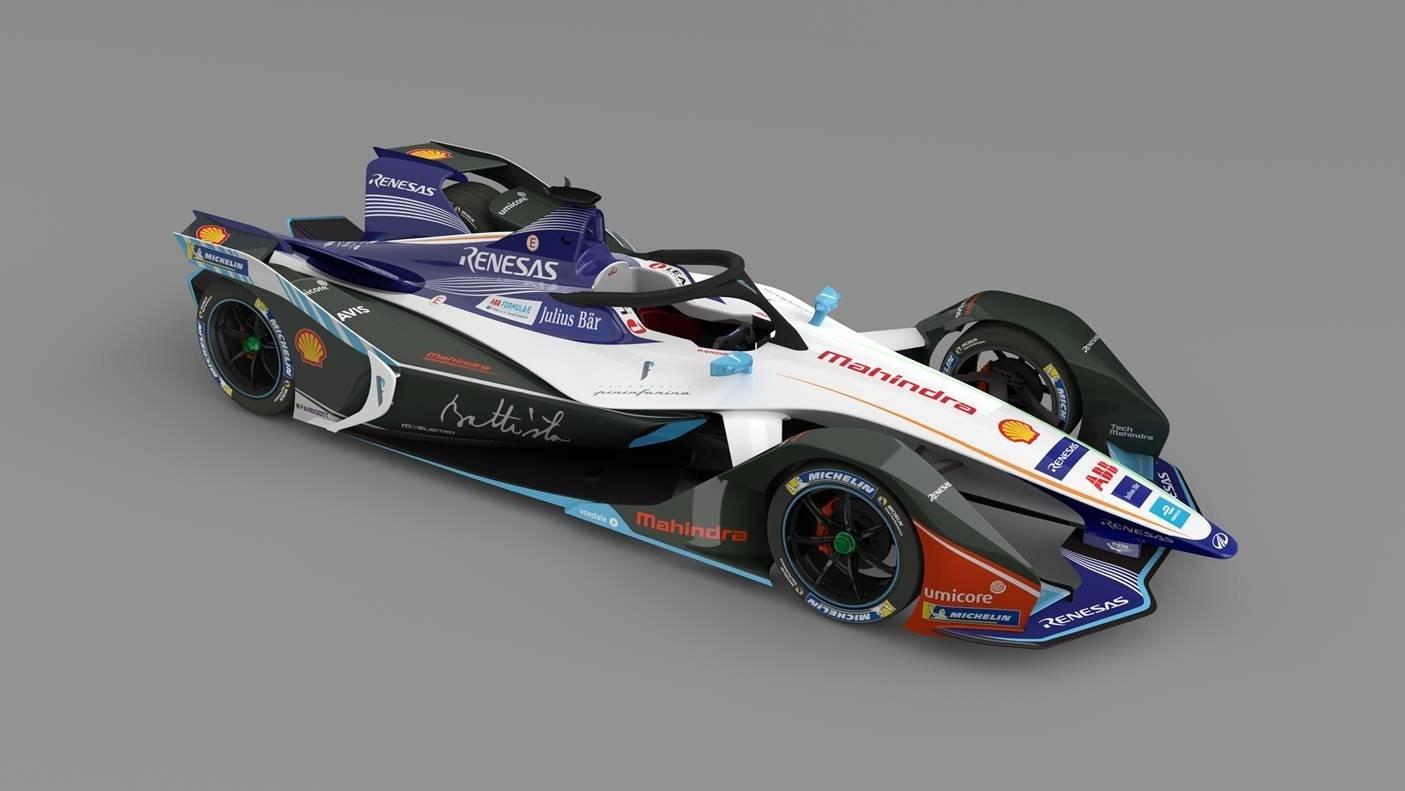 Automobili Pininfarina - Formula E car render