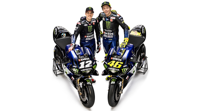 Yamaha S Factory And Supported Motogp Teams And Riders For 2019
