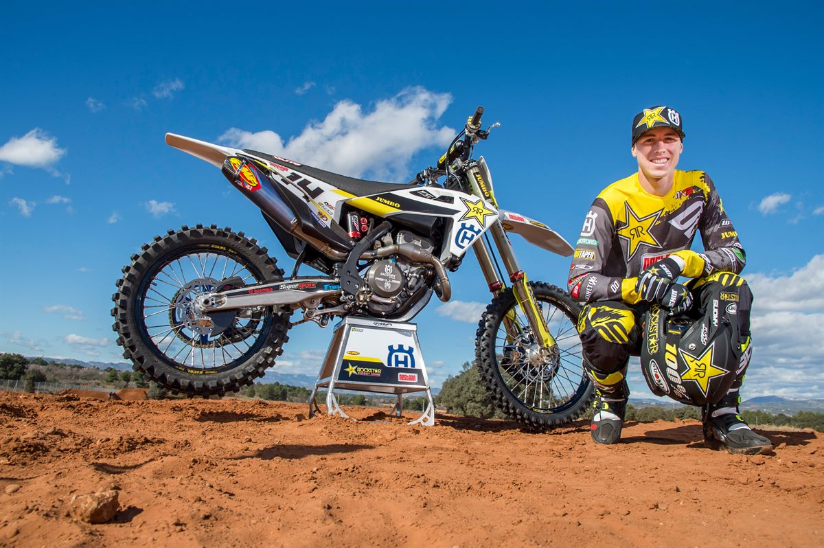 Jed Beaton - Rockstar Energy Husqvarna Factory Racing MX2 Team