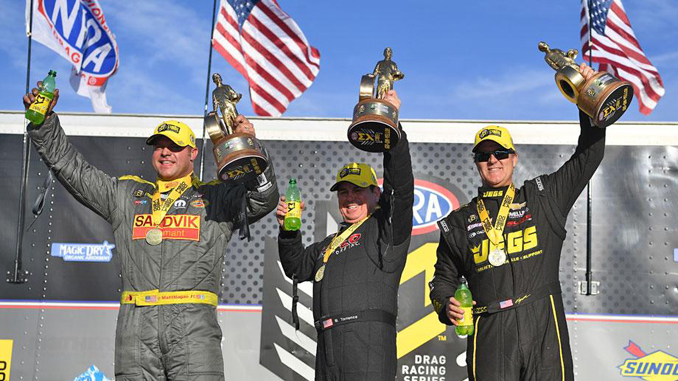 NHRA Arizona Nationals winners
