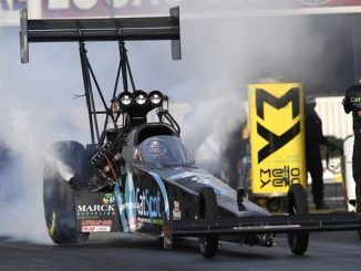 NHRA - Top Fuel - Scott Palmer - action