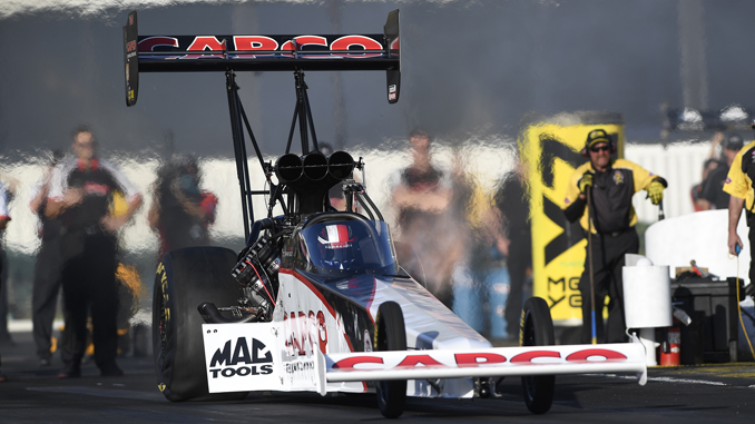 NHRA - Top Fuel - Steve Torrence - action