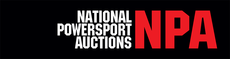 National Powersport Auctions banner