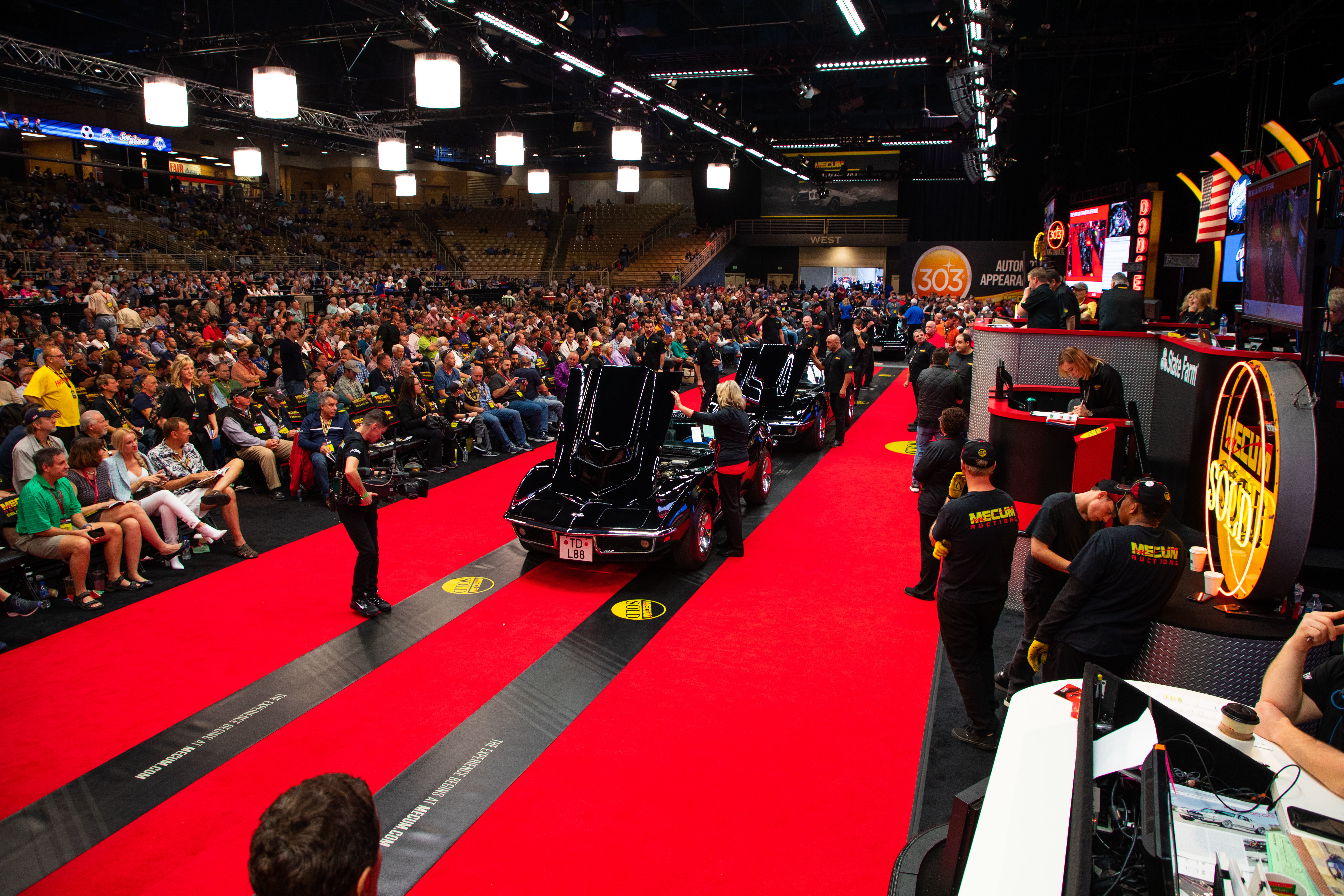 The 1969 L88 Corvette Offering Two Tuxedo Black L88s Sold as a Pair (Lot F151) Sold at $990,000 - Mecum Auctions