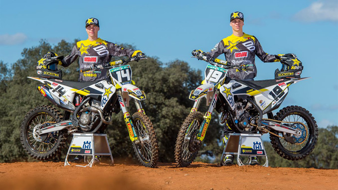 Thomas Kjer-Olsen & Jed Beaton - Rockstar Energy Husqvarna Factory Racing MX2 Team