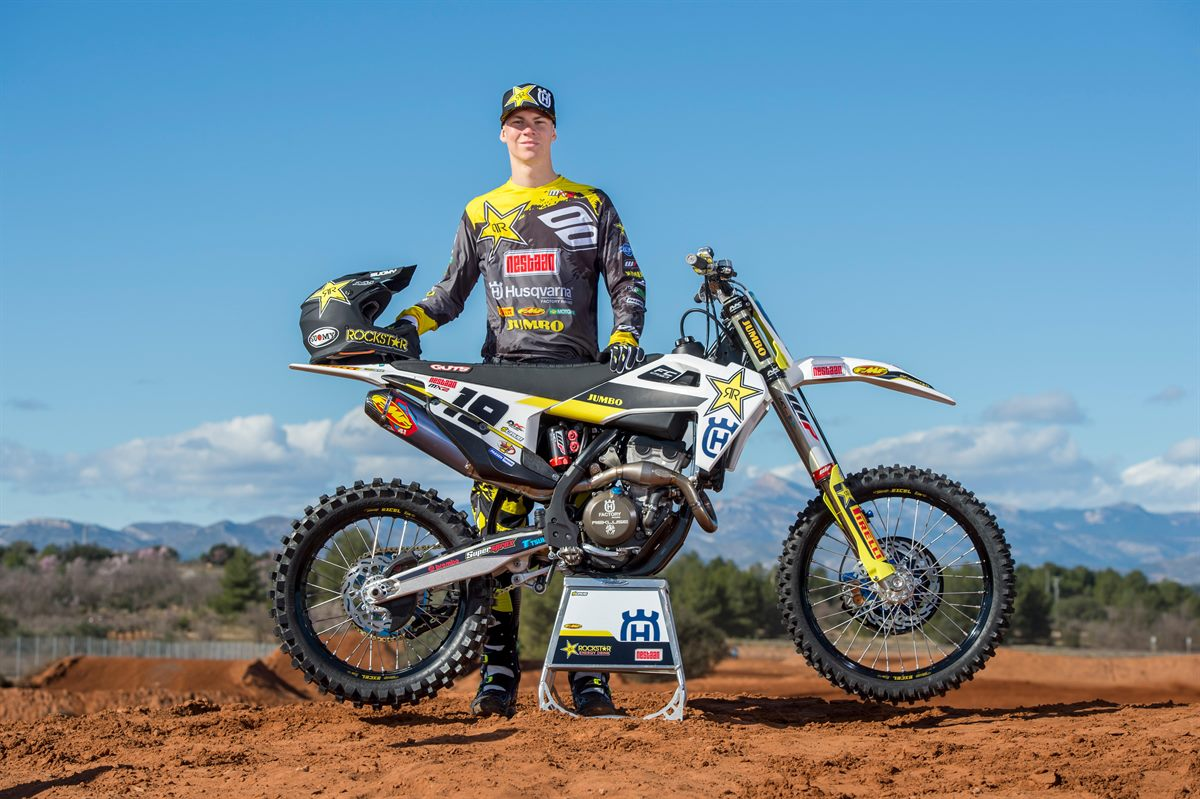 Thomas Kjer-Olsen - Rockstar Energy Husqvarna Factory Racing MX2 Team