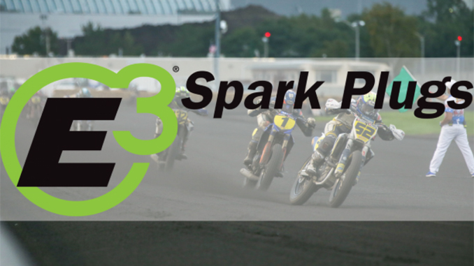E3 Spark Plugs and American Flat Track Renew Partnership for 2019
