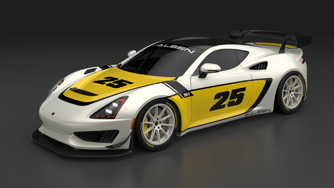 The Saleen Cup will feature fully-prepared track-ready versions of the company's new Saleen 1 sports car