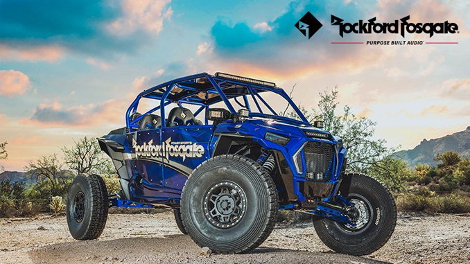 Rockford Fosgate Announces New Audio Systems for Polaris RZR