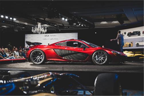 2015 McLaren P1 (Darin Schnabel © 2019 Courtesy of RM Sotheby's) Amelia Island