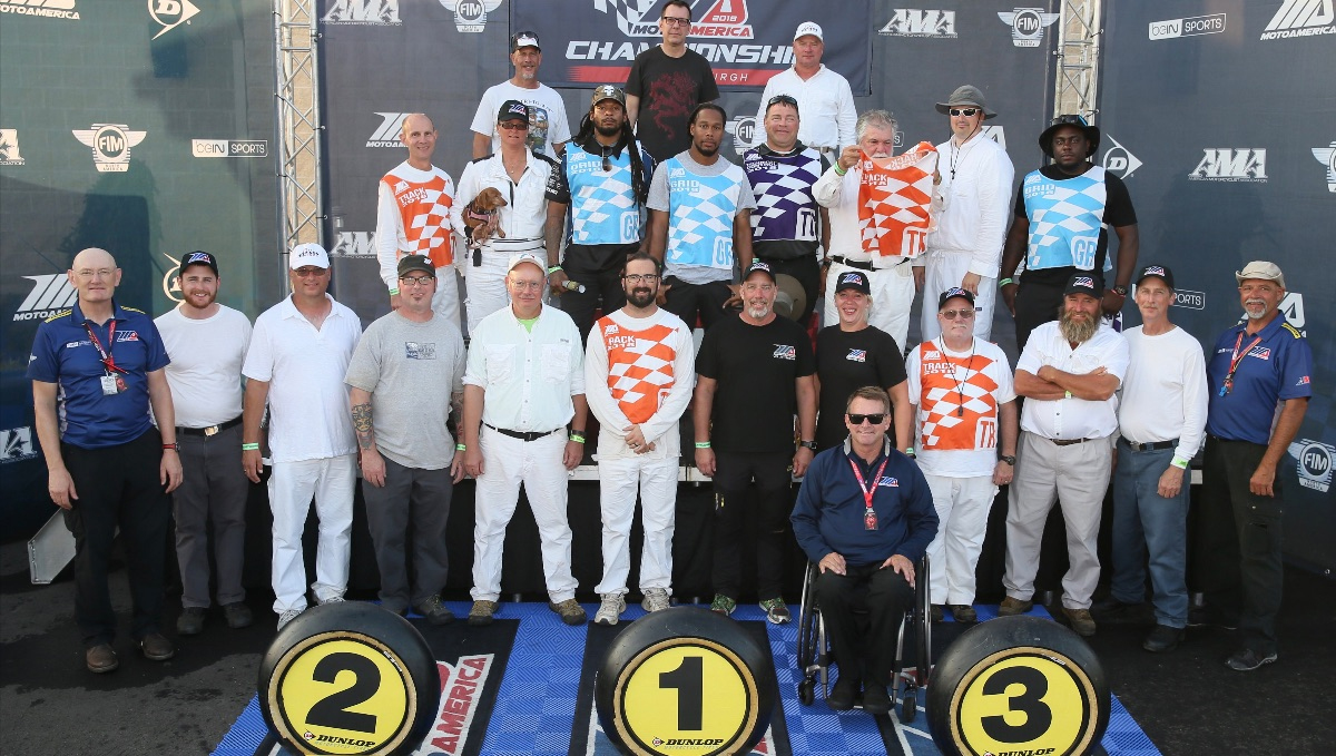 Be a marshal for the opening round at Michelin Raceway Road Atlanta