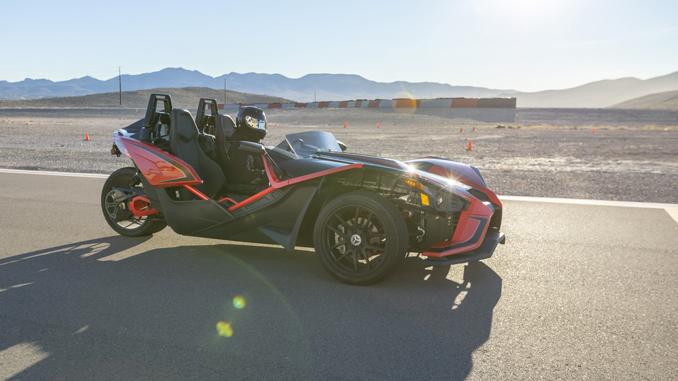 Polaris Slingshot Xtreme Xperience Ultimate Joyride to Racetracks