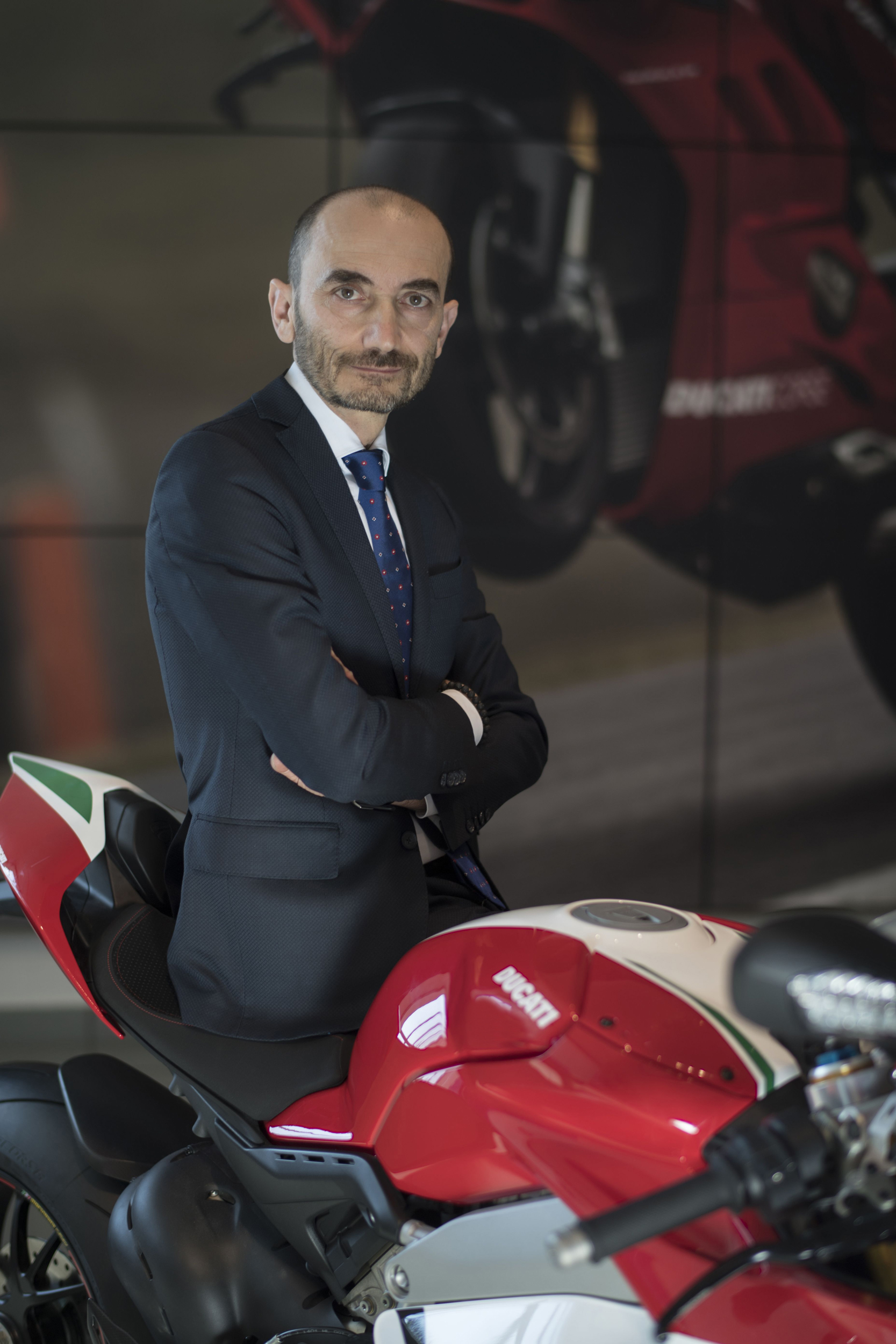 Claudio Domenicali Ducati CEO