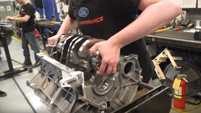 How Ford Performance Builds Engines