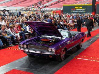 1970 Dodge Hemi Challenger R-T Convertible (Lot S101) Sold at $1430000 - Mecum Auctions Phoenix