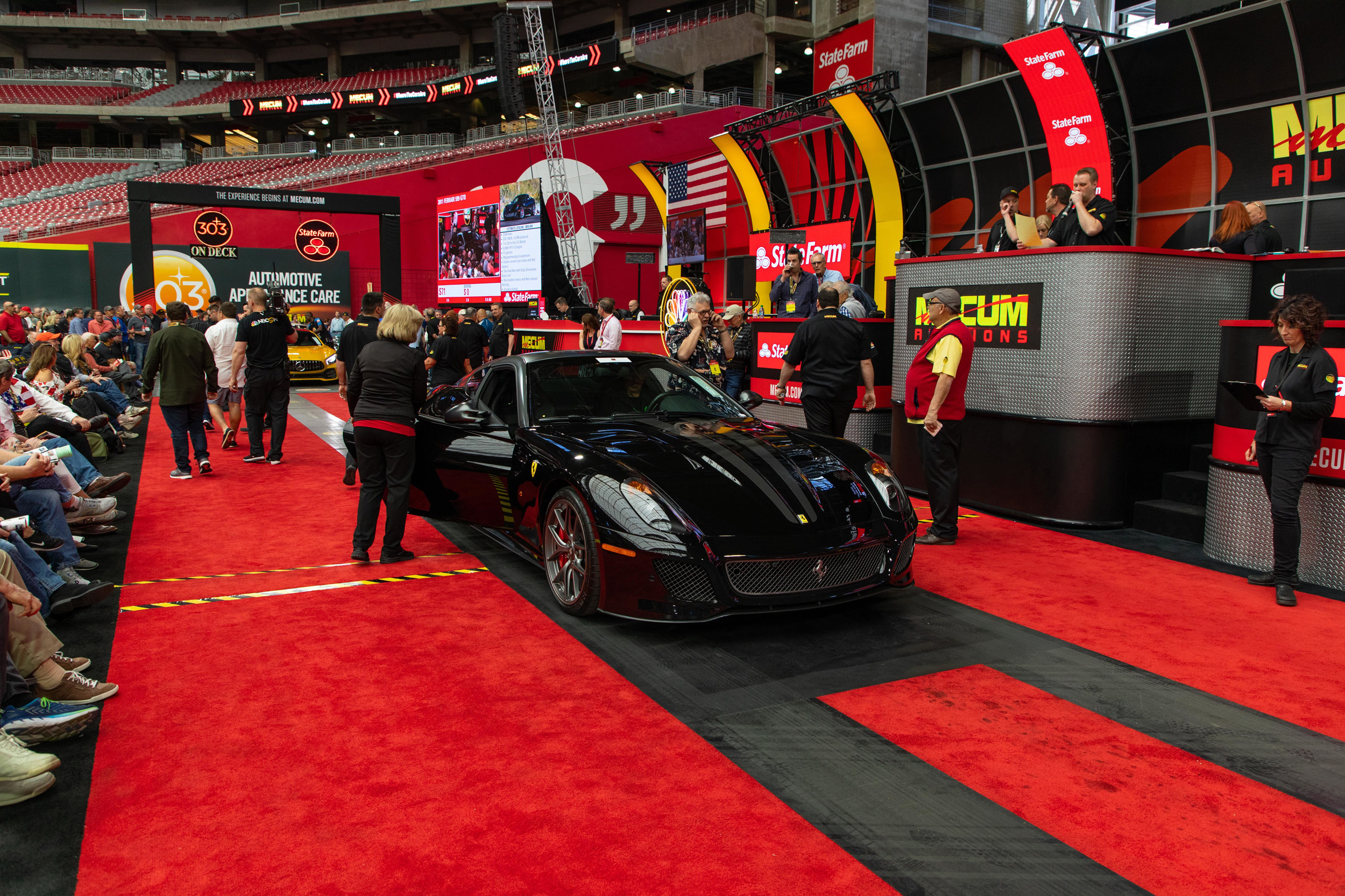 2011 Ferrari 599 GTO (Lot S71) Sold at $770000 - Mecum Auctions Phoenix