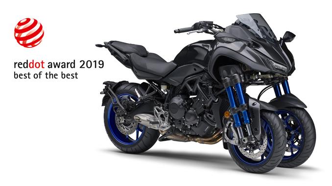 "Yamaha NIKEN Wins 2019 Red Dot ""Best of the Best"" Award for Design"