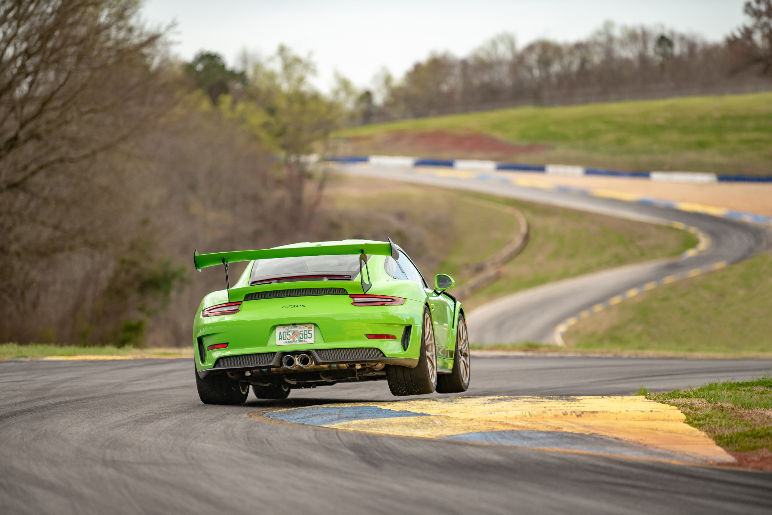 Porsche 911 GT3 RS at Michelin Raceway Road Atlanta