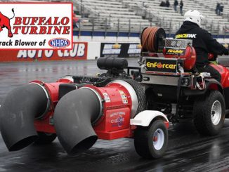 Buffalo Turbine Renews Sponsorship as Official Track Blower of NHRA