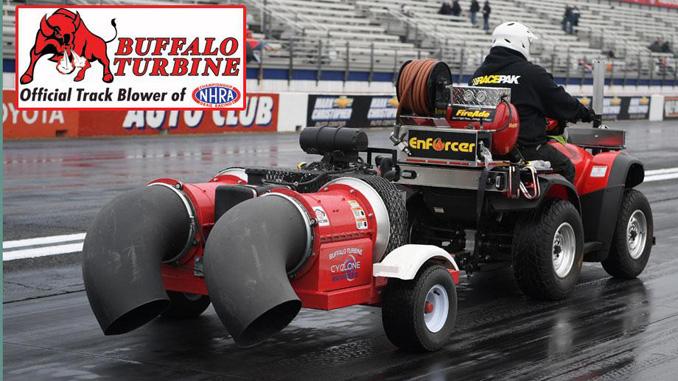 Buffalo Turbine Renews Sponsorship as Official Track Blower of NHRA